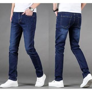 Quần jean nam♥️ dài trơn co giãn cao cấp