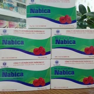 Muối vệ sinh – Nabica – hộp 10 gói