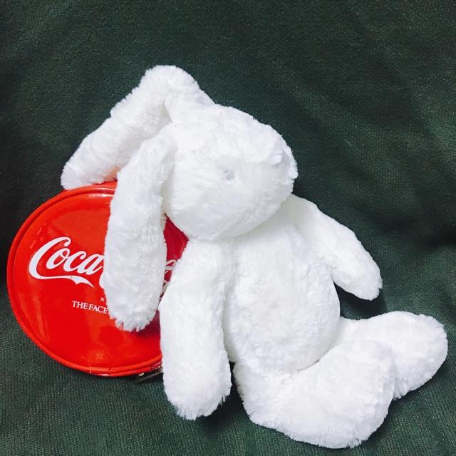 Thỏ bông trắng lông mềm (hàng xuất thị trường Hàn Quốc)