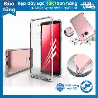 Ốp Lưng Samsung Full Dòng Viền Chống Sốc, Nhựa Dẻo Silicon Trong Suốt T-Rex ( NOTE- S 8/9/10/20 E-U-Plus)