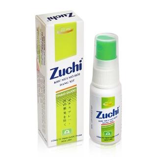 Khử mùi mồ hôi dạng xịt Zuchi chai 20ml thumbnail