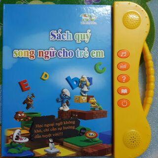 Sách nói song ngữ cho bé