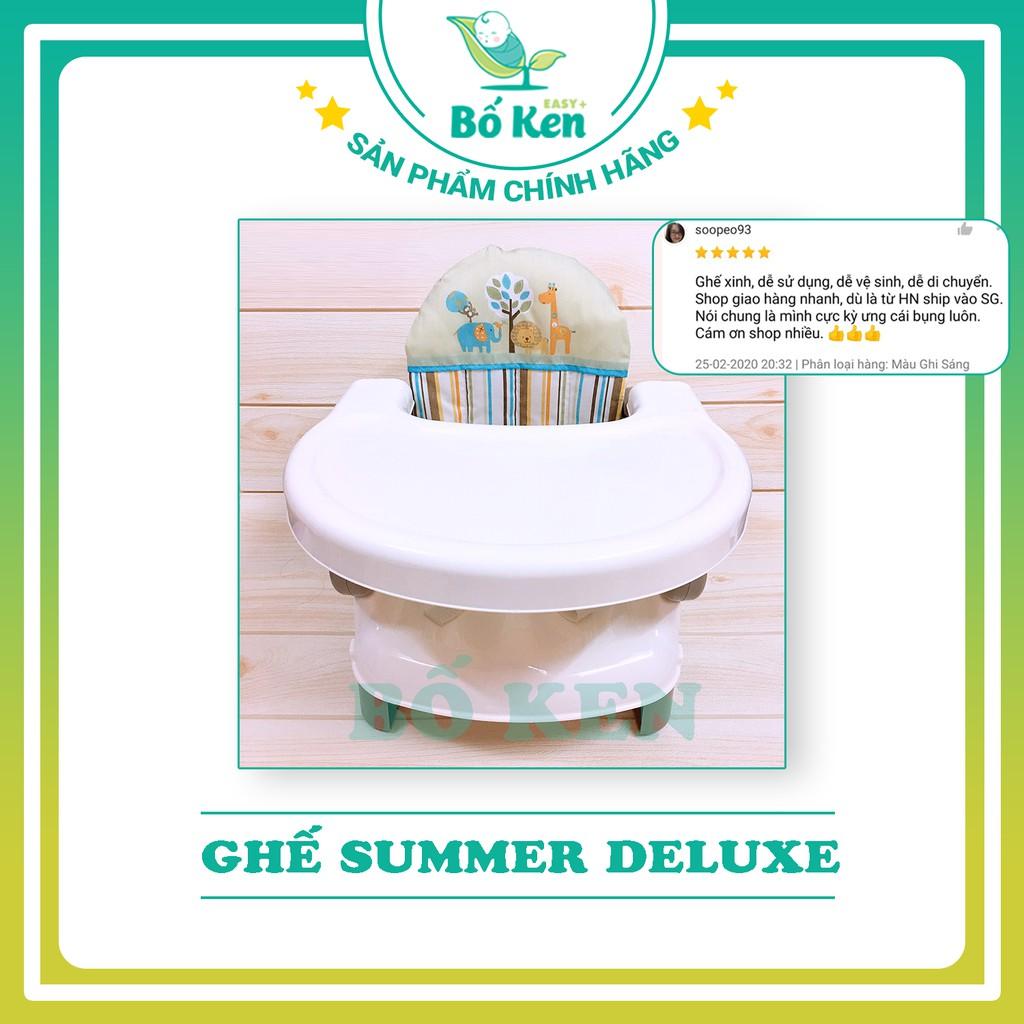 Shop Bố Ken Ghế ăn dặm Cao Cấp Summer Deluxe Siêu Tiện Lợi [ Hàng Chính Hãng sử Dụng Đến 3 Tuổi ]
