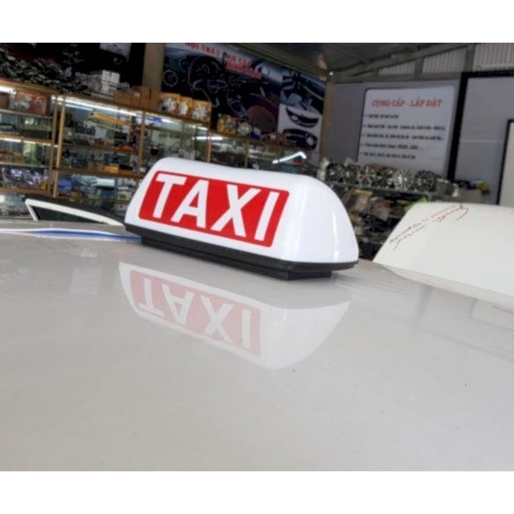 Mào Taxi Đủ Màu Có Đèn, Đế Hút Nam Châm Chắc Chắn