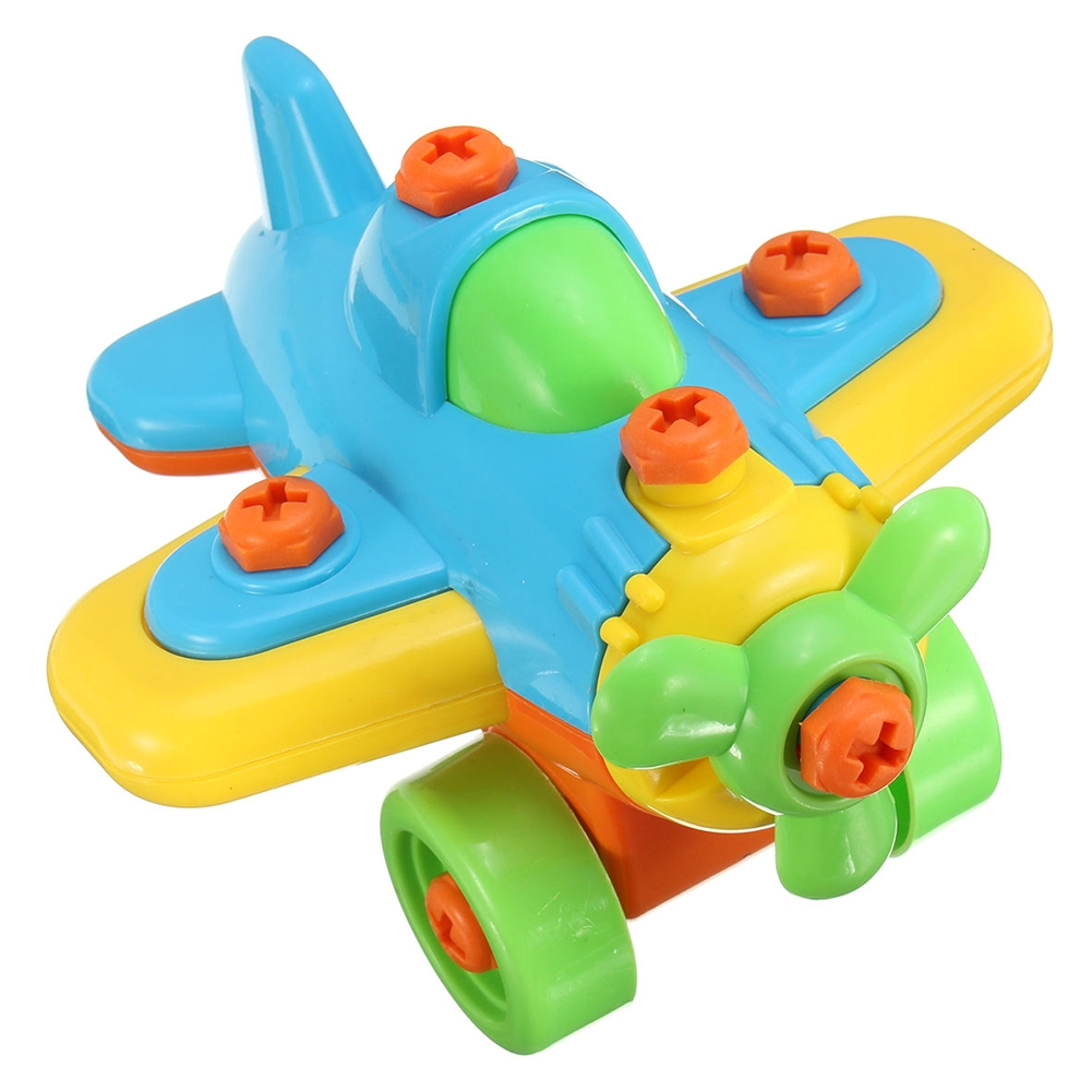 Kids Children Christmas Birthday DIY Disassembly Model Plane Educational Toy