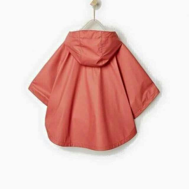 Áo gió kiêm áo mưa 2 trong 1 Zara bé gái