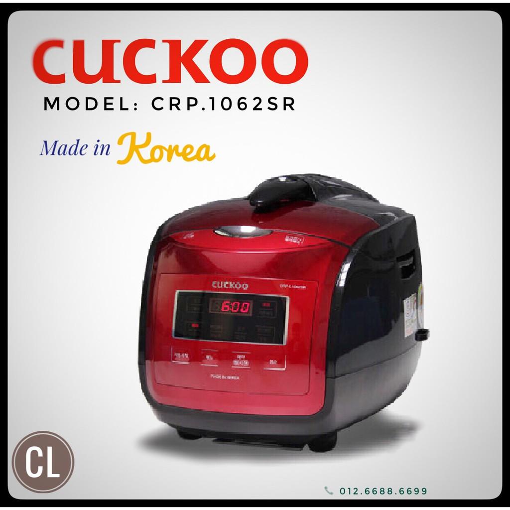 Hàng chính hãng - Nồi cơm áp suất điện tử Hàn Quốc Cuckoo CRP-L1062SR - 3093391 , 537812399 , 322_537812399 , 4950000 , Hang-chinh-hang-Noi-com-ap-suat-dien-tu-Han-Quoc-Cuckoo-CRP-L1062SR-322_537812399 , shopee.vn , Hàng chính hãng - Nồi cơm áp suất điện tử Hàn Quốc Cuckoo CRP-L1062SR