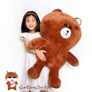 Gấu bông brown 1m cao cấp (quà tặng móc khóa người gỗ)