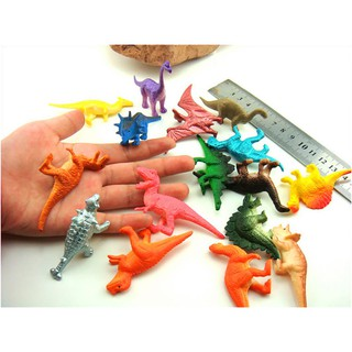 16pcs/set Dinosaurs Model Cute Gifts Toys Hobbies Kids Dinosaurus Figures Toy