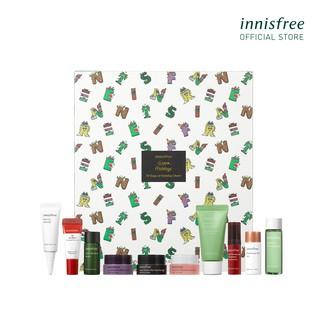 Bộ kit dưỡng da phiên bản Giáng sinh Green Holidays innisfree 10 Days of Holiday Cheer thumbnail