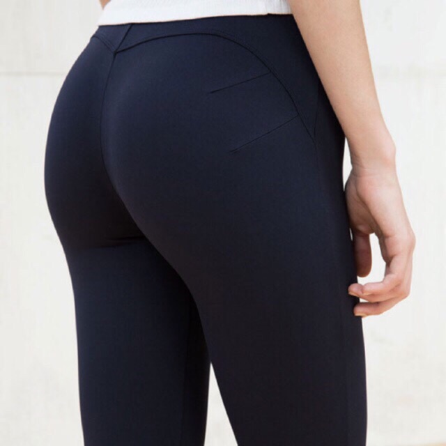 Quần legging nâng mông ( đen và xám)
