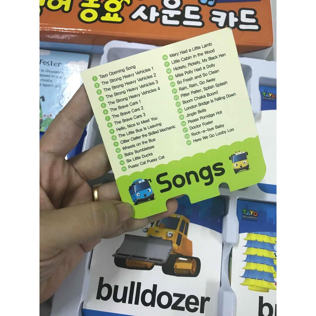 Học tiếng anh qua bài hát Toyo cho bé - Thẻ nhạc tiếng Anh Toyo chính hãng Hàn Quốc