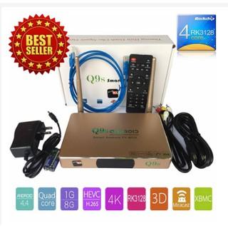 TvBox Q9s Smart Tvbox Biến Tv Thường Thành Smart Tv Thế Hệ Mới full hd 4k 2018
