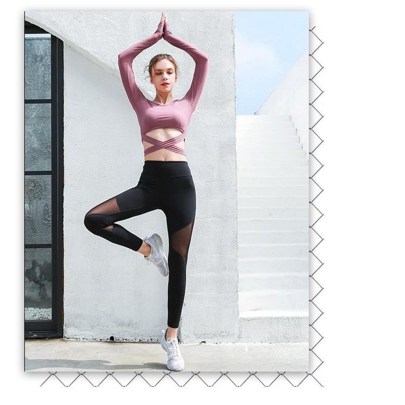 Quần Tập Yoga, Tập Gym Thể Thao Tôn Dáng YINGHU