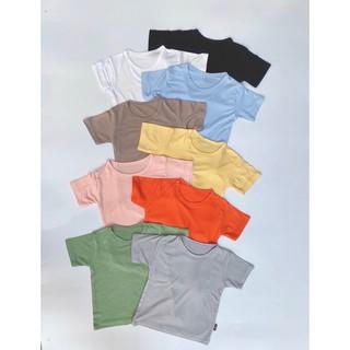 Áo phông cộc tay trẻ em, áo thun lạnh 9 màu