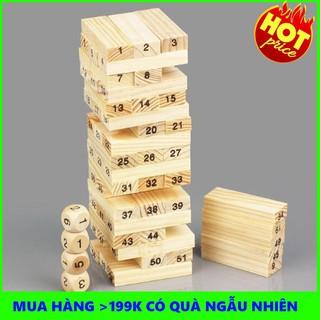 Combo 2 bộ rút gỗ 54 thanh cho bé | TẠI BA ĐÌNH
