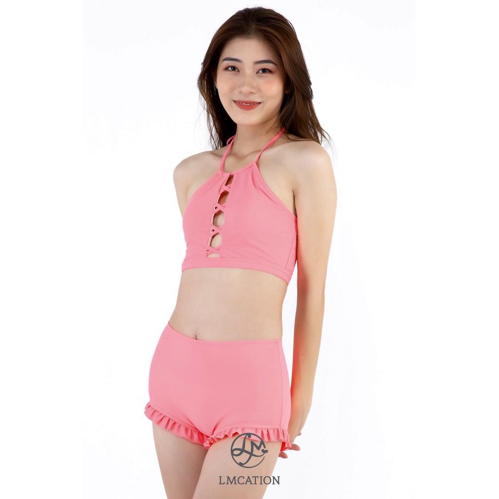 Áo Bikini Thể Thao Nữ LMcation Lola - Màu Hồng