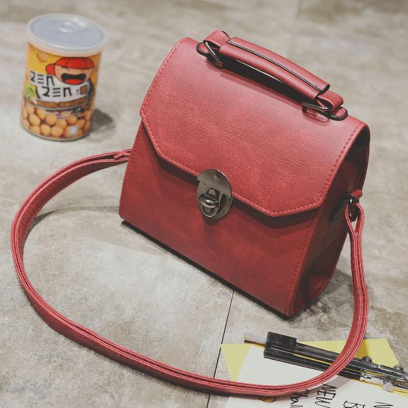 Túi Xách Nữ Đeo Chéo TX06 Đỏ Phong Cách Hàn