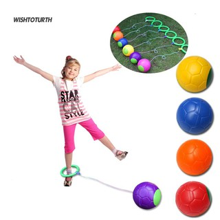 ☼WT Funny Children Kids Ankle Skip Ball Hop Jumping Playground Exercise Toy Game