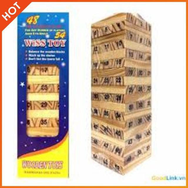 [CỰC ĐẸP] – Sỉ 5 rút gỗ mini 54 thanh