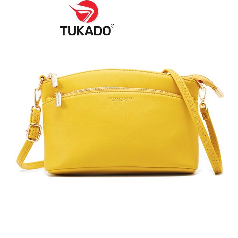 Túi Xách Nữ Đeo Chéo Thời Trang FOREVER YOUNG Phong Cách Vintage Hàn Quốc New Style 2020 FY23 - PL914-48 - Tukado