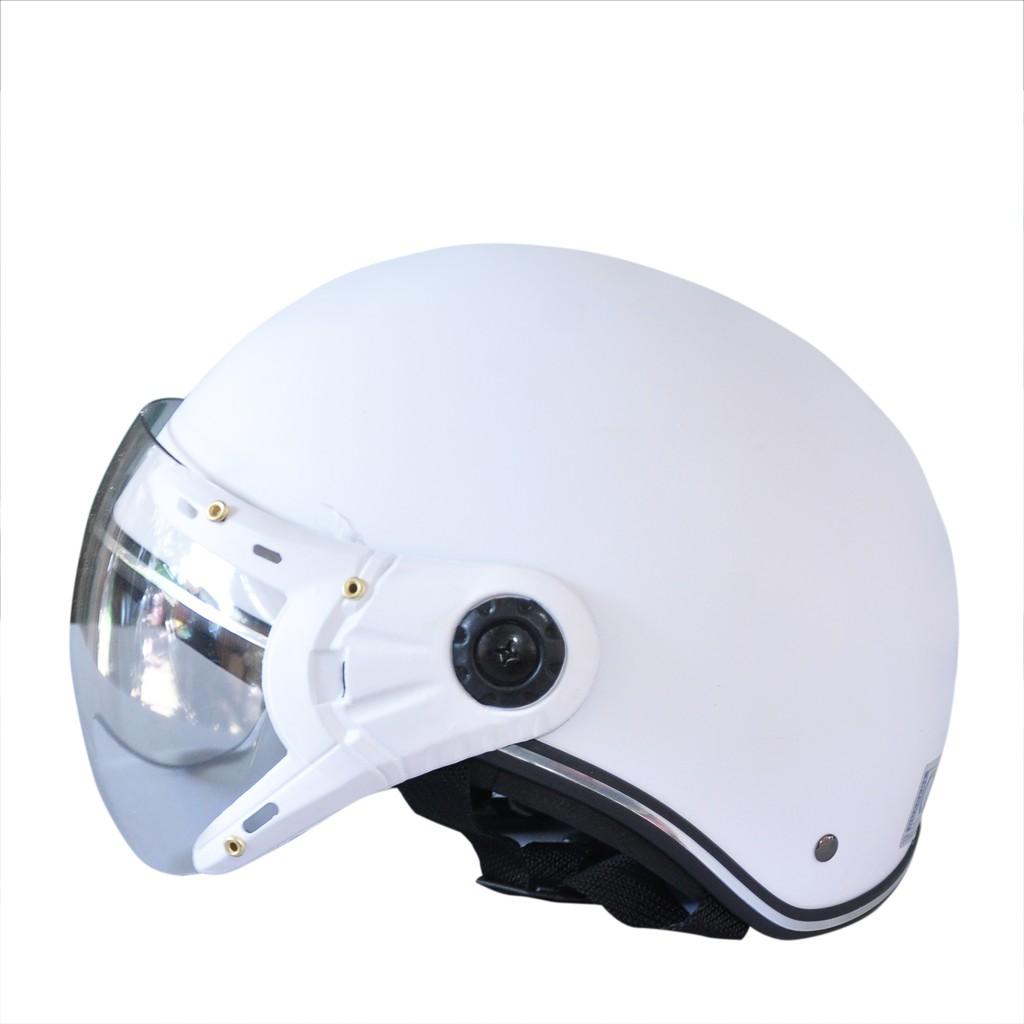 Nón bảo hiểm kính càng ✅ LOẠI TỐT ✅ Nón bảo hiểm có kính - Mũ bảo hiểm kính gập