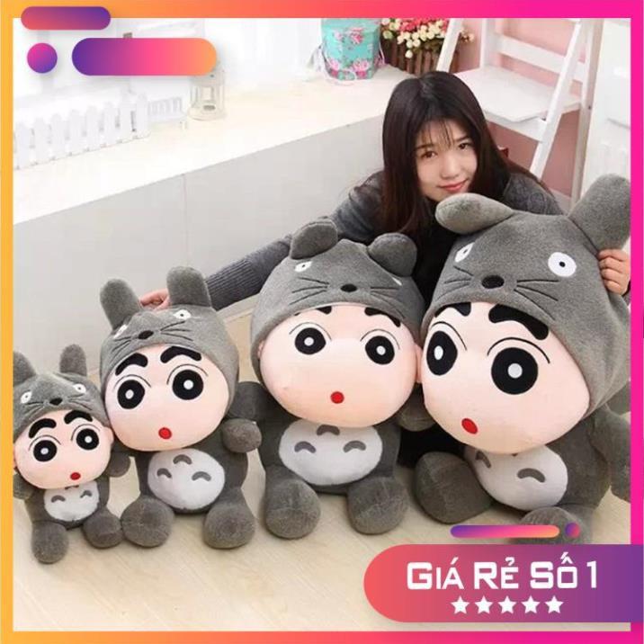 Gấu Bông, Gấu Ôm - Shin Totoro Bông - Kích Thước 40cm- Được Xem Hàng Trước