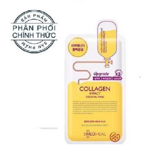 Mặt nạ dưỡng ẩm ngăn ngừa lão hóa da Mediheal Collagen Impact Essential Mask 25ml