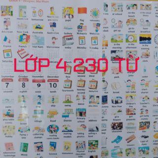 Sticker lớp 4