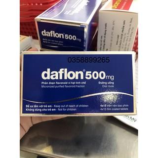 Suy Giãn Tĩnh Mạch Daflon Hộp 60 Viên