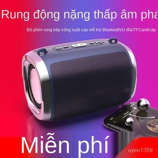 Loa Bluetooth Âm Thanh Lớn Âm Thanh Loa Siêu Trầm Ô Tô Gia Đình Thẻ Điện Thoại Máy Tính Loa Ngoài Di Động Đa Năng thumbnail