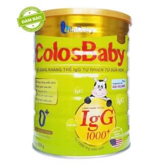 Sữa Colosbaby 1000IgG 800G số 0+ (0-12 tháng)