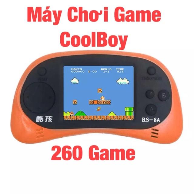 Máy Chơi Game Cầm Tay CoolBoy 260 Game RS-8A - 191179572,322_191179572,120000,shopee.vn,May-Choi-Game-Cam-Tay-CoolBoy-260-Game-RS-8A-322_191179572,Máy Chơi Game Cầm Tay CoolBoy 260 Game RS-8A