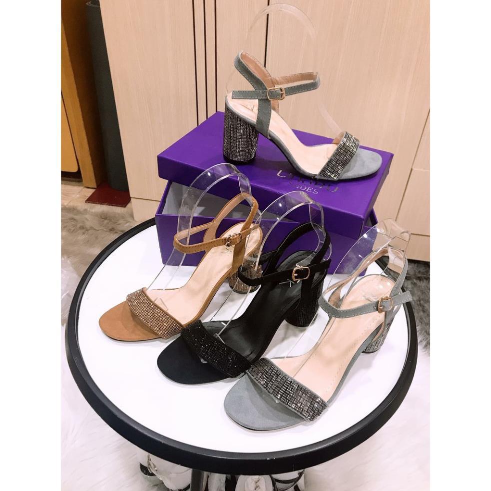 Giày sandal cao gót [HÀNG MỚI-FREESHIP] 7 cm, đế cực êm và chắc chân [HÀNG SẴN]