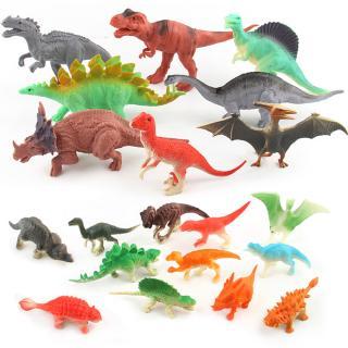 20pcs Children Simulation Plastic Dinosaur Toys Action Figures Dinossauro Model Christmas Gift