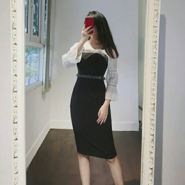 Đầm công sở tay phồng thanh lịch Ninna Dress - 9993364 , 1154525684 , 322_1154525684 , 360000 , Dam-cong-so-tay-phong-thanh-lich-Ninna-Dress-322_1154525684 , shopee.vn , Đầm công sở tay phồng thanh lịch Ninna Dress