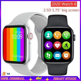 Đồng hồ thông minh W26 Series 6 2020 màn hình cảm ứng 1.75 inch đo nhịp tim