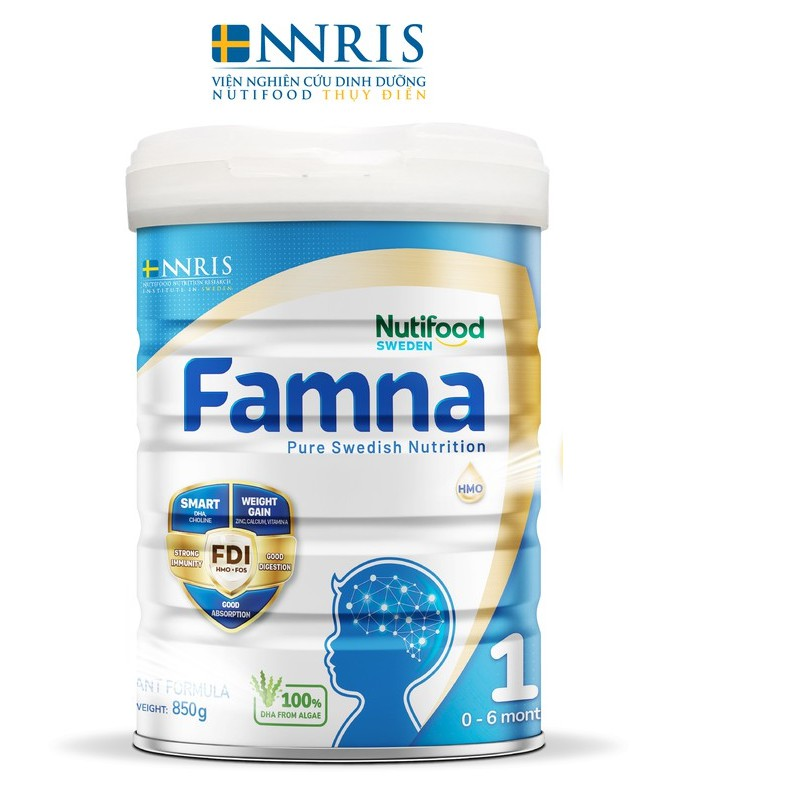 Sữa Bột FAMNA 1 Lon 850g