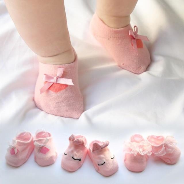Sét 03 đôi tất hài cho Bé gái - 3258349 , 1097221330 , 322_1097221330 , 95000 , Set-03-doi-tat-hai-cho-Be-gai-322_1097221330 , shopee.vn , Sét 03 đôi tất hài cho Bé gái
