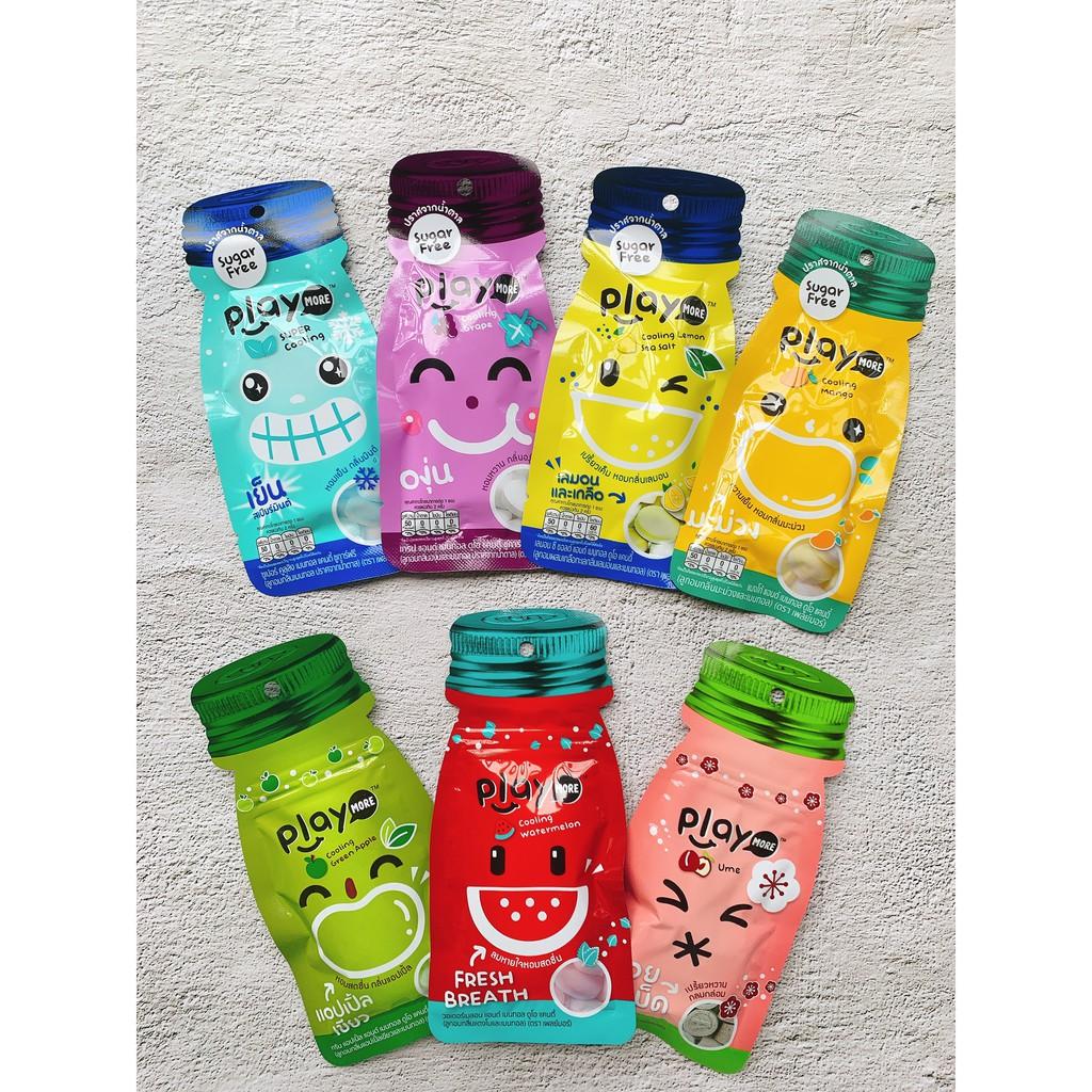 Kẹo Playmore Dưa Hấu Thái Lan gói 12G