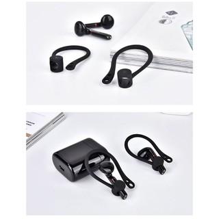 Vỏ silicone móc vành tai bảo vệ tai nghe Huawei Flypods/ Flypods Pro/ Freebuds2/ Freebuds2 Pro