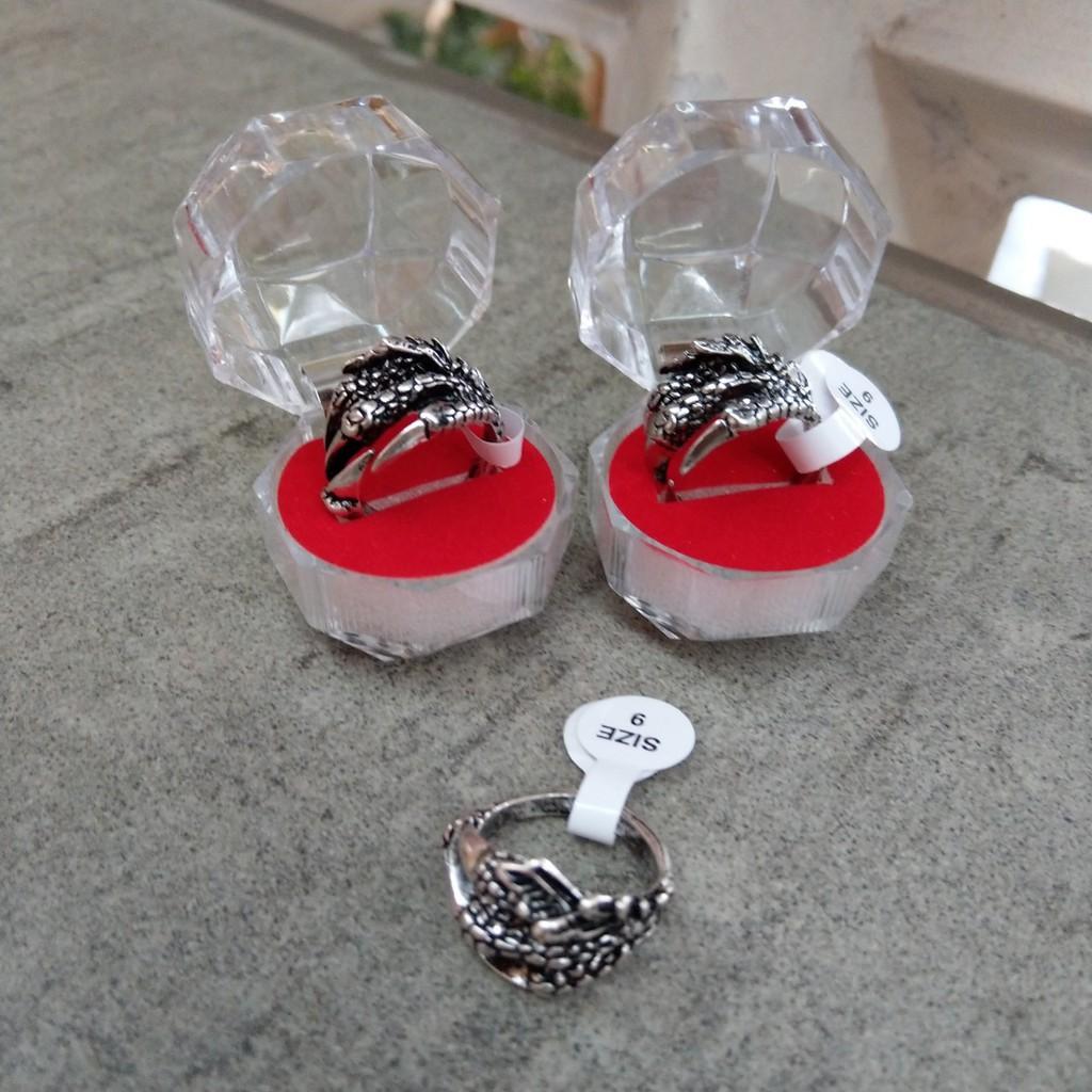 Nhẫn Nam & Nữ Móng Vuốt Độc lạ - nhẫn đôi nam nữ