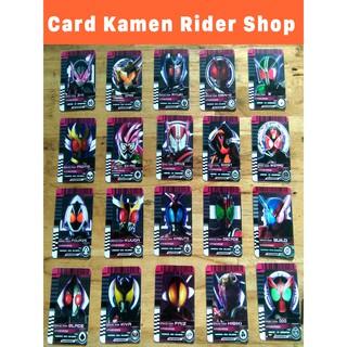 Trọn bộ 20 card Heisei Era Riders – Card Kamen Rider shop