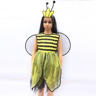 Set hóa trang ong vàng chơi Halloween cho bé từ 3-5 tuổi