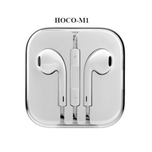 Tai Nghe Chính hãng Hoco M1 âm thanh siêu chất phù hợp với tất cả các máy giắc 3.5