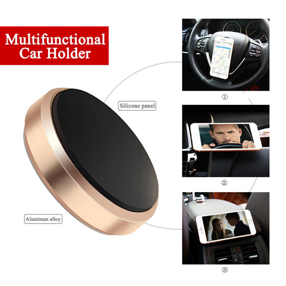 360 Magnetic Car Phone Holder Stand In Car for xiaomi Magnet Mount Cell Mobile Phone Wall Nightstand Support GPS
