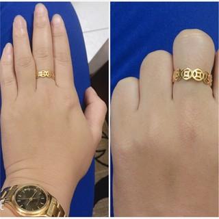 Hình ảnh [Mã FABRREST19 giảm 30k đơn bất kỳ] Nhẫn kim tiền cao cấp ANTA Jewelry ATJ5515-8