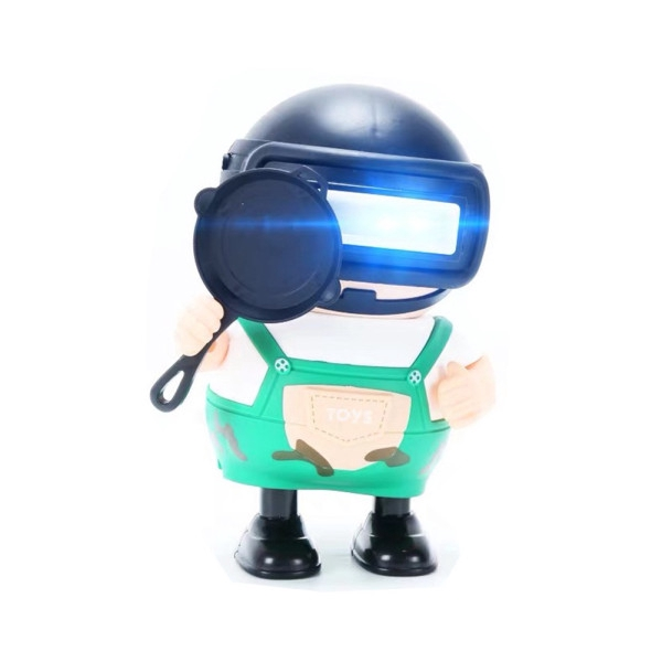 Music Light Dancing Robot Cute Funny Music Electric Toy-WS