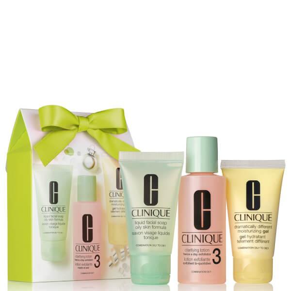 Set 3 bước chăm sóc da dầu Clinique Great Skin 1-2-3 Gift Set for Oilier Skin - 2541701 , 886591180 , 322_886591180 , 325000 , Set-3-buoc-cham-soc-da-dau-Clinique-Great-Skin-1-2-3-Gift-Set-for-Oilier-Skin-322_886591180 , shopee.vn , Set 3 bước chăm sóc da dầu Clinique Great Skin 1-2-3 Gift Set for Oilier Skin