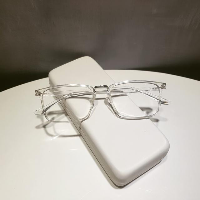 Gọng kính cận nam nữ Qiwa Eyewear, gọng kính mắt nhựa dẻo mắt vuông màu sắc thời trang- 2165
